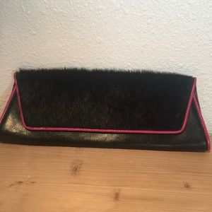 Valerie Stevens fur and leather bag